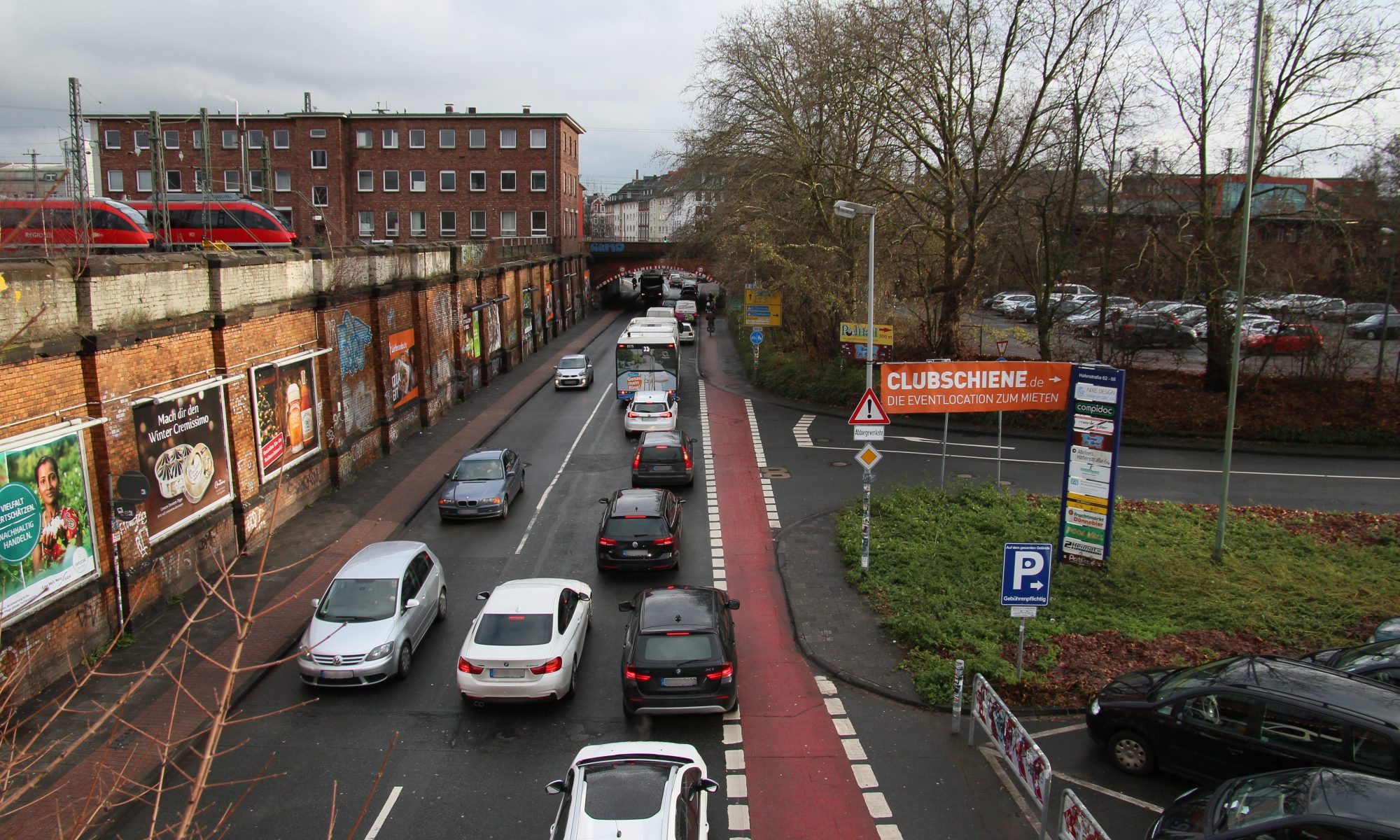 Unfair verteilter Verkehrsraum
